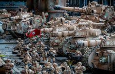 Warhammer 40000,warhammer40000, warhammer40k, warhammer 40k, ваха, сорокотысячник,фэндомы,Astra Militarum,Imperial Guard, ig,Imperium,Империум,Miniatures (Wh 40000),Baneblade,Leman Russ (tank),Sentinel (wh 40000)