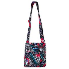 e06735bb6ef0 The Mini Keeper by Kavu is cotton canvas bag that can be used for a variety  of things.Magnetic closure for security.Five individual compartments.