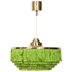 Fringed Chandelier by Hans Agne Jakobsson, Markaryd, Sweden, 1950s   See more antique and modern Chandeliers and Pendants at http://www.1stdibs.com/furniture/lighting/chandeliers-pendant-lights