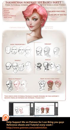 Portrait 101 Voice over Workshop Tutorial by sakimichan (drawing tutorial hands digital paintings) Sakimichan Tutorial, Sakimichan Art, Digital Painting Tutorials, Digital Art Tutorial, Art Tutorials, Digital Paintings, Drawing Tutorials, Anatomy Reference, Drawing Reference