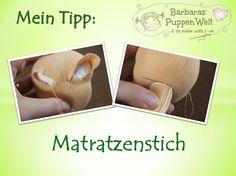 Barbaras Blumenkinder und Puppen Welt: Mein Tipp: Matratzenstich
