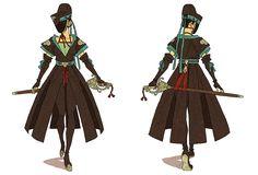 fy character design | afuchan:   Faye - Bodyguard