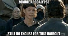 The Walking Dead #ThatHAIRCUT #twd