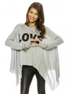 Peace Love World Clothing | Love Heather Skinny Parachute Fashion Top - TOPS - WOMEN