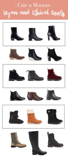 Vegan and Ethical Boots for Winter!