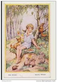 Dorothy Wheeler - English - vintage postcard