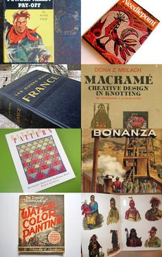 Gotta Have Vintage Books! --Pinned with TreasuryPin.com