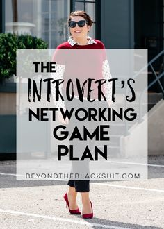 the introvert's guide to networking || networking for the working woman || girlboss guide to networking