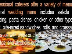 #Tips for #Catering a #WeddingReception for 300