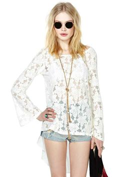 Andrea Lace Top