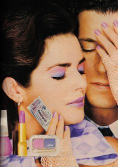 German Cosmopolitan April 1983 : Gia Carangi by Patrick Demarchelier - the Fashion Spot Vintage Makeup Ads, Retro Makeup, Vintage Beauty, Vintage Ads, Eye Makeup, Dior Makeup, Vintage Room, Retro Ads, Vintage Shoes