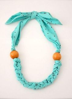 Best 12 Items similar to Turquoise Statement Necklace – Fabric Scarf Necklace – Fabric Jewelry on Etsy Scarf Necklace, Fabric Necklace, Scarf Jewelry, Textile Jewelry, Fabric Jewelry, Diy Necklace, Fabric Bracelets, Necklaces, Collar Necklace