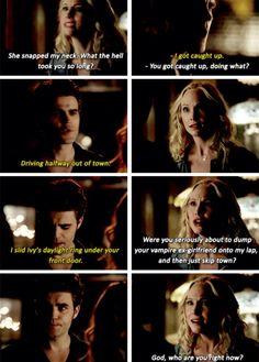Stefan and Caroline The Vampire Diaries Season 6