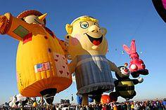 Maior festival de balões do mundo - 1 milhão de pessoas e 750 balões [FOTOS]