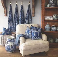Classic furniture, home wares and ceramics. Engineered timber flooring, Sisal flooring and leather chesterfield sofas. Timber Flooring Melbourne, Engineered Timber Flooring, Blue And White China, Blue Rooms, Classic Furniture, White Decor, Cozy House, Decoration, Room Decor