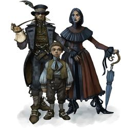 Middle Class Family from Fable II