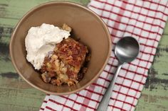 How to make upside-down spiced apple cake