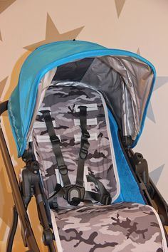 UPPABABY VISTA 2015 Custom Stroller Pram Liner Pad in by TinyLily