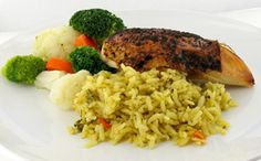 Speedy Chicken & Rice w Vegetable Dinner  #unclebensrecipes