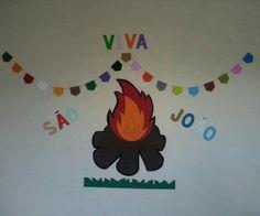 Decoração de E.v.a. Temática. Tema: Festa Junina Valor: 18.65 R$