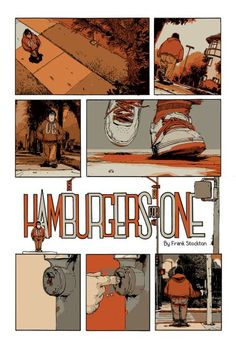hamburgers for one – short story comic by frank stockton