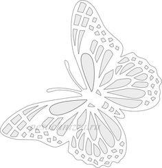 Вытынанки шаблоны трафареты снежинки Kirigami, Paper Cutting, Butterfly Drawing, Butterfly Template, Simple Cartoon, Paper Tree, Paper Butterflies, Quilling Designs, Flower Wall Decor
