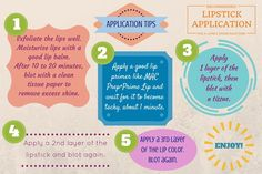 #Tips for applying a #lipstick.