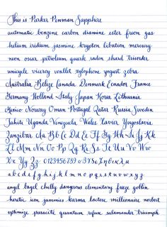 beautiful handwriting samples 1000 ideas about beautiful handwriting on 6204