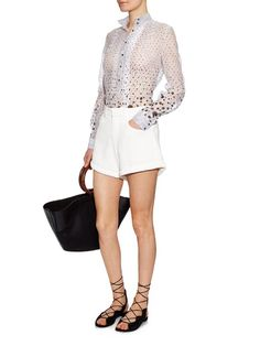 Thierry Colson Peggy polka-dot print blouse
