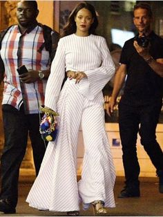 Rihanna-Nice-France-Rosie-Assoulin-striped-top-and-striped-palazzo-pants-1