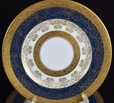 Hutschenreuther,  Bavaria, Dinner plate from the 1920s