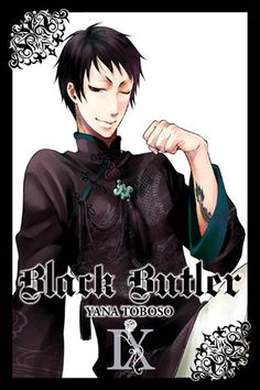 Buy Black Butler, Vol. 9 by Yana Toboso at Mighty Ape NZ. Earl Ciel Phantomhive's quietude is interrupted as Queen Victoria's very own butlers commandeer Phantomhive Manor for a lavish banquet sanctioned by H. Black Butler Manga, Manga Books, Manga Covers, Stormy Night, Ciel Phantomhive, Black Butler Kuroshitsuji, Manga Anime, Anime Art, Art