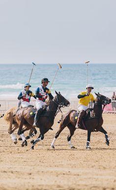 Polo on the Beach 2013, Watergate Bay, Cornwall, England.