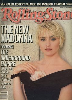 Pud Whacker's Madonna Scrapbook: Rolling Stone - June 5, 1986 ...