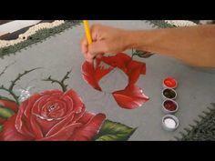 Você ama pintura em tecido e quer aprender a fazer uma linda Rosa?Então você não pode perder esse passo a passo incrível apresentado pela Artesã Angela de Paula.