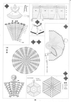 crafts for home: cute dishcloths, free crochet pattern - crafts ideas - crafts for kids Vintage Potholders, Crochet Potholders, Crochet Motifs, Granny Square Crochet Pattern, Crochet Diagram, Crochet Chart, Crochet Doilies, Crochet Patterns, Diy Crafts Crochet