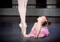 I've always looked up to dancers