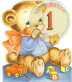 Happy Birthday One Year Old 4 by Tommer G, via Flickr