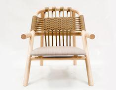 UNAM lounge chair by german designer sebastian herkner for very wood by gervasoni