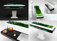 Brandt Aion Kitchen Futuristic Home Furniture (Photo Gallery)