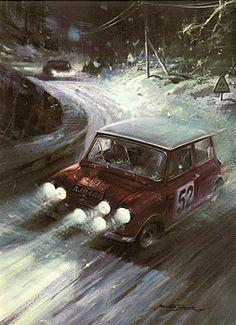 Michael Turner. Brilliant motor sport artist.