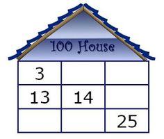 Math Coach's Corner: Dusti's 100 House