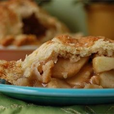 Grandma Ople's  Apple Pie Allrecipes.com