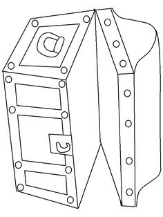 free treasure chest coloring pages - treasure chest coloring page printable how to draw