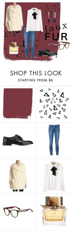 """""""Myself"""" by archijulie ❤ liked on Polyvore featuring Nika, Givenchy, Frame, Zadig & Voltaire, WithChic, Fendi, Burberry and vintage"""