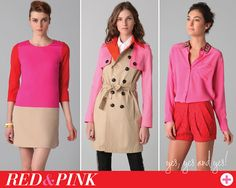 Red + Pink = LOVE