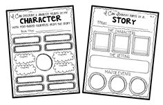 Cheeseburger Book Report Project: templates, printable