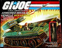 Wolverine vehicle with Cover Girl..... One of my first Joe vehicles.