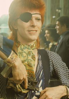 <p>The origins of David Bowie's eyepatch? A bout of conjunctivitis. But Bowie ran with it, and made it the cornerstone of a complete space pirate costume.</p>
