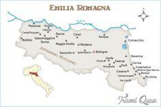 Map of Veneto Emilia-Romagna - http://travelquaz.com/map-veneto-emilia-romagna.html